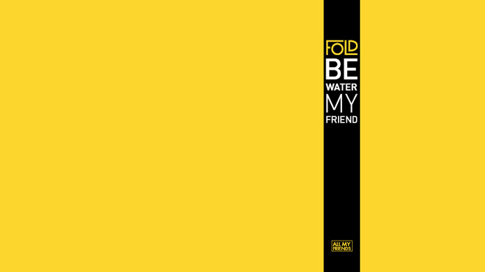Fold - Be Water My Friend (with Bruce Lee) | Out Now