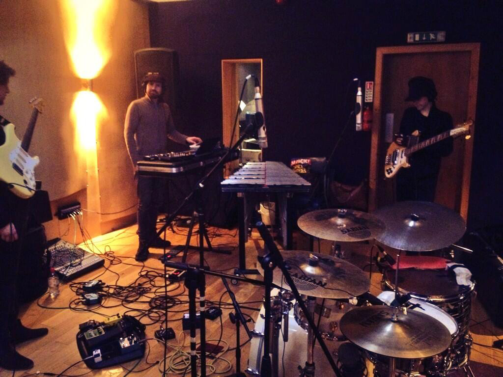 Recording Be Water My Friend, Eiger Studios