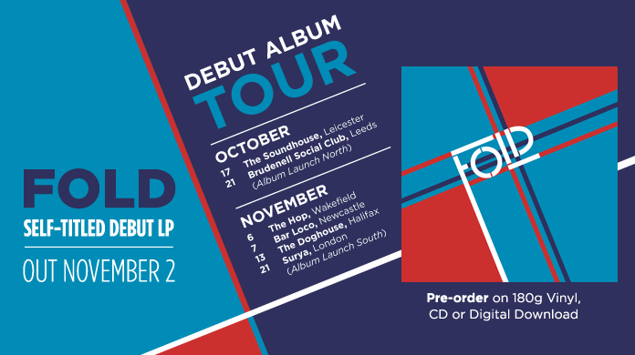 Announcing debut Fold album and tour