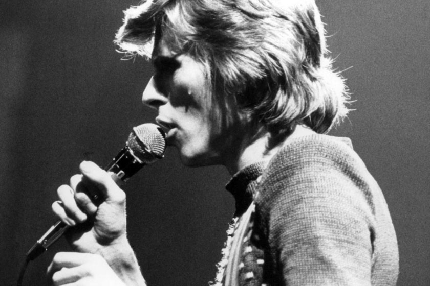 David Bowie in 1974