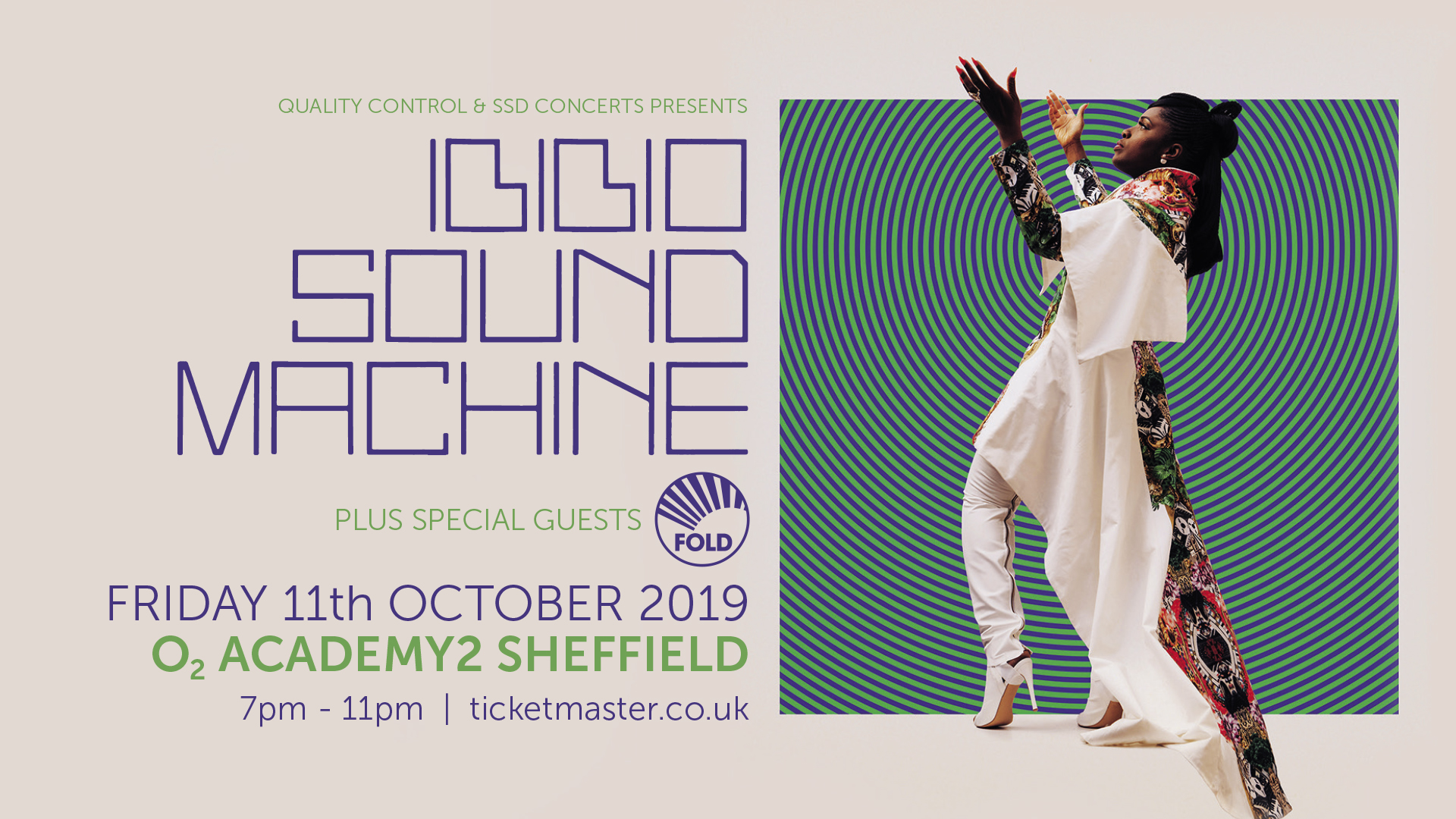 Ibibio Sound Machine with guests Fold at the O2 Academy2 Sheffield - Friday October 11, 2019